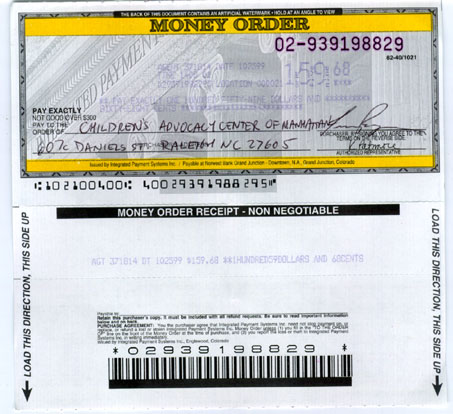 fake money order template - money order meddic